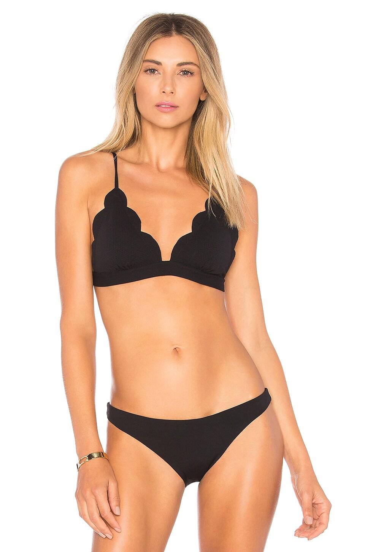 Marysia Swim Santa Clara Tri Top in Black