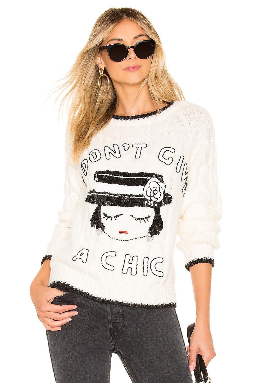 MUAMUADOLLS Pullover Sweater in Cream