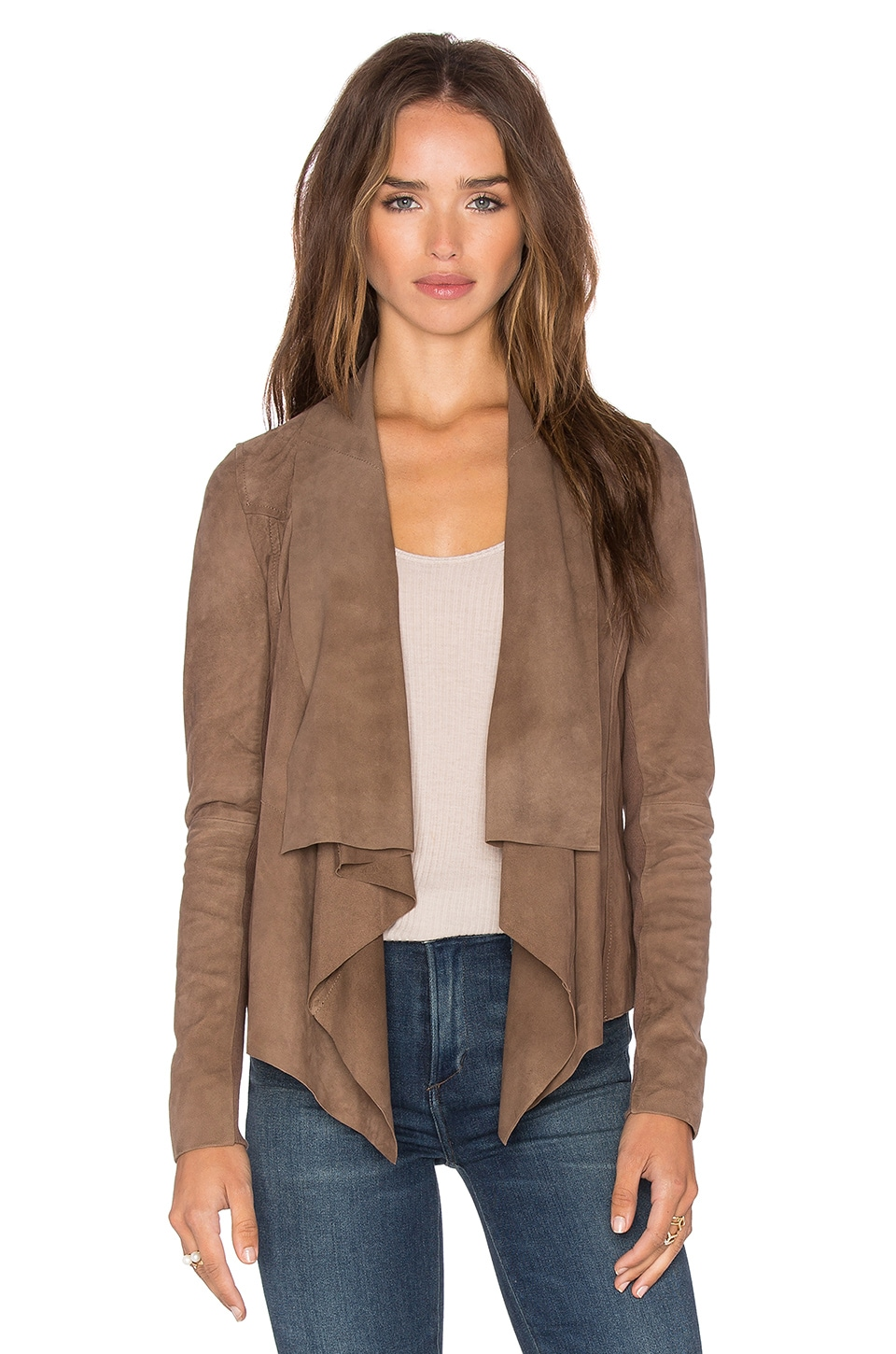 Chester Drape Front Jacket by Muubaa