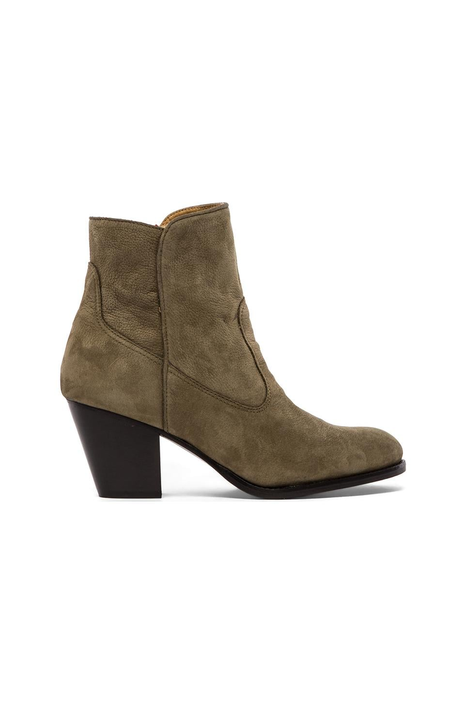 MODERN VICE COLLECTION Western Bing Bootie in Olive