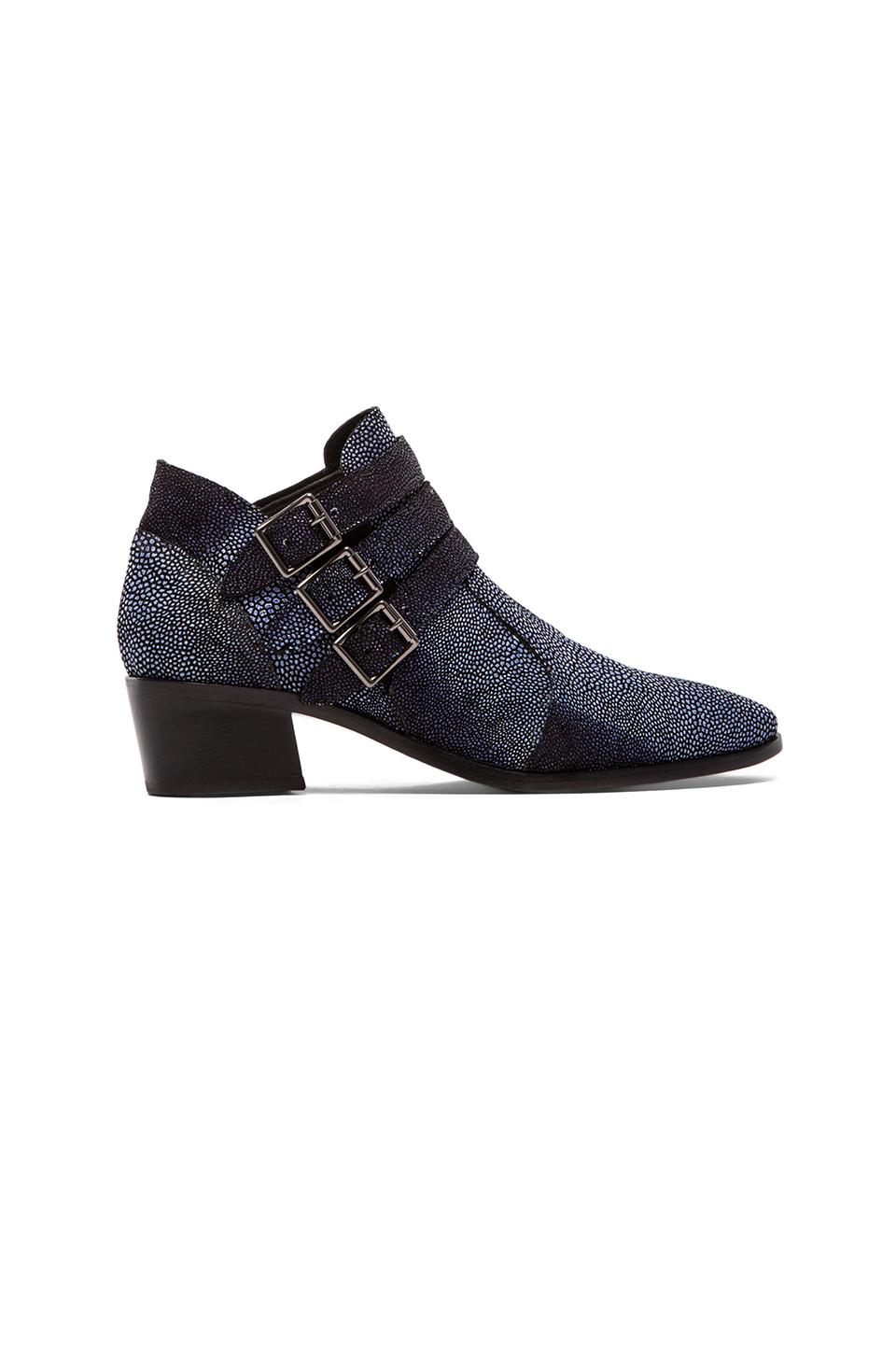 MODERN VICE COLLECTION Chloe Bootie in Blue Stingray
