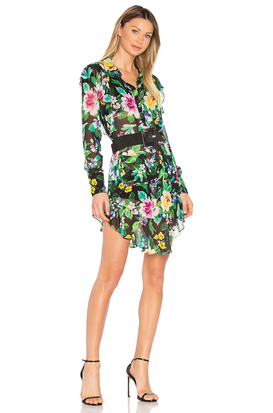 Marissa Webb Shelton Print Dress in Waverly