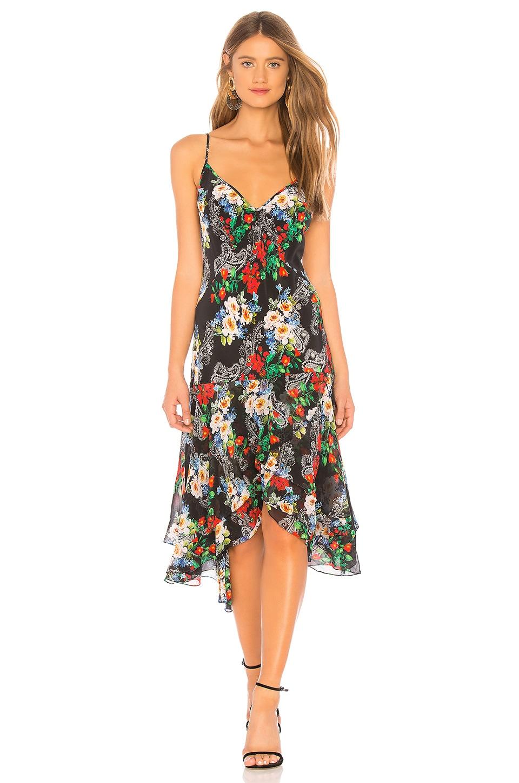 Marissa Webb Illana Silk Print Dress