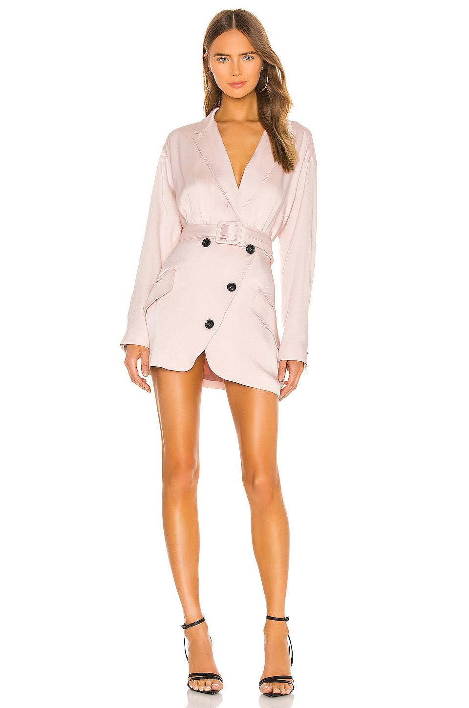 Marissa Webb Cyrus Suit Dress in Blush
