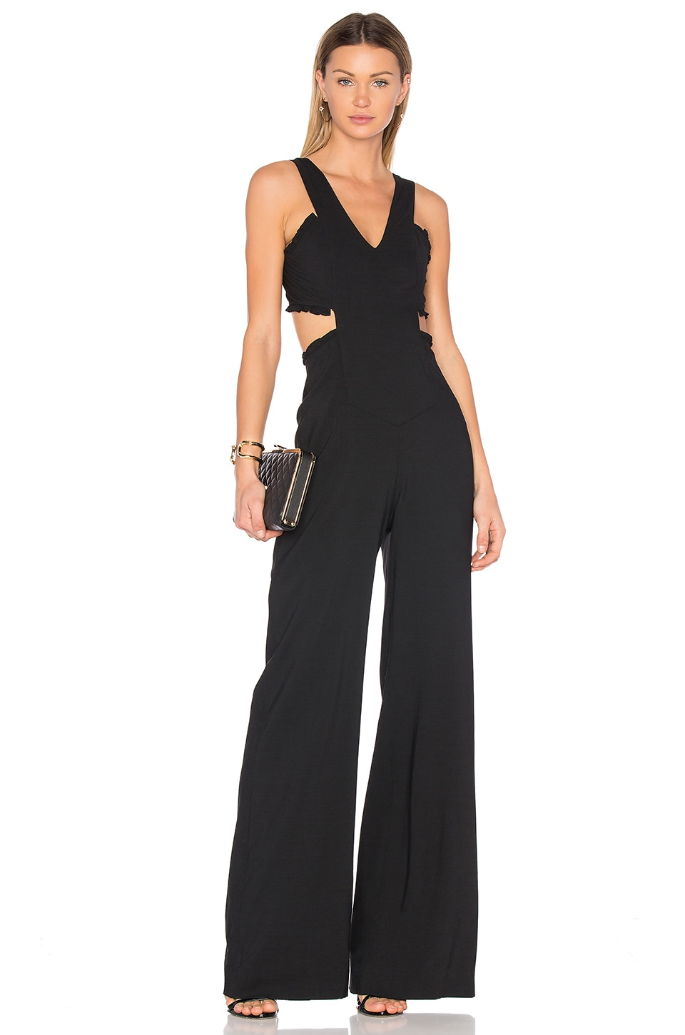 Alicia Crepe Jumpsuit by Marissa Webb