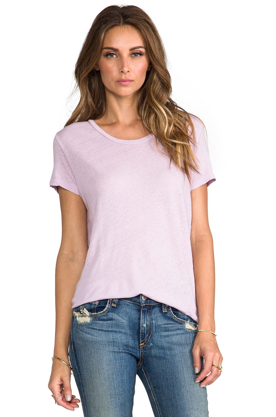 My Line Haven Loose Tee in Lavender