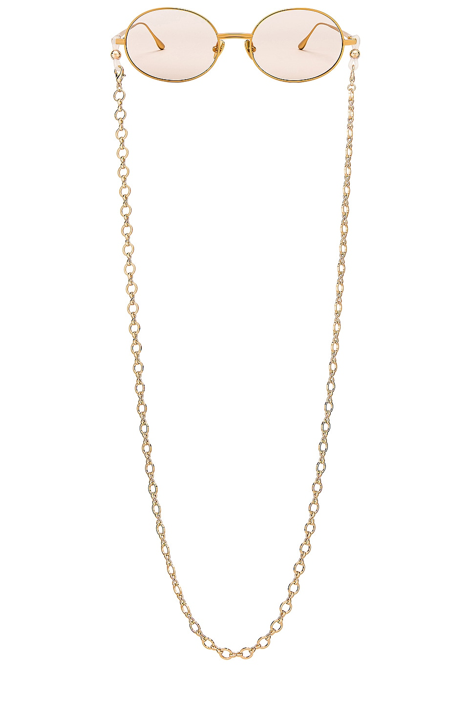 my my my Taylor Sunglass Chain in Gold