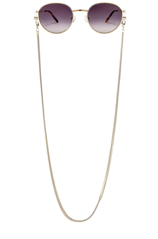 my my my Devyn Sunglass Chain in Gold