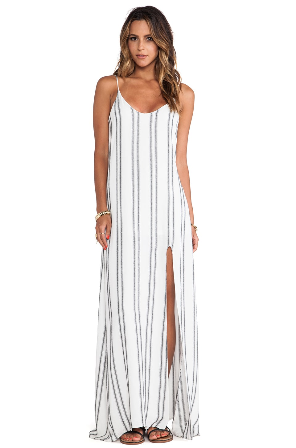 Myne Canyon Maxi Dress in Yacht
