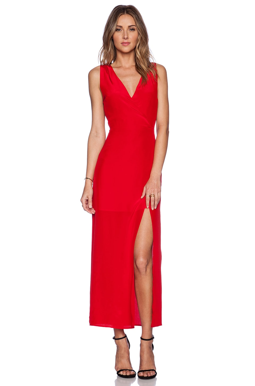 Myne Dawn Maxi Dress in Poppy