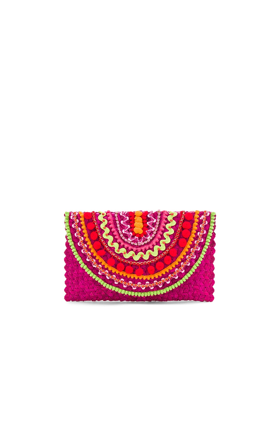 Mystique Clutch in Pink