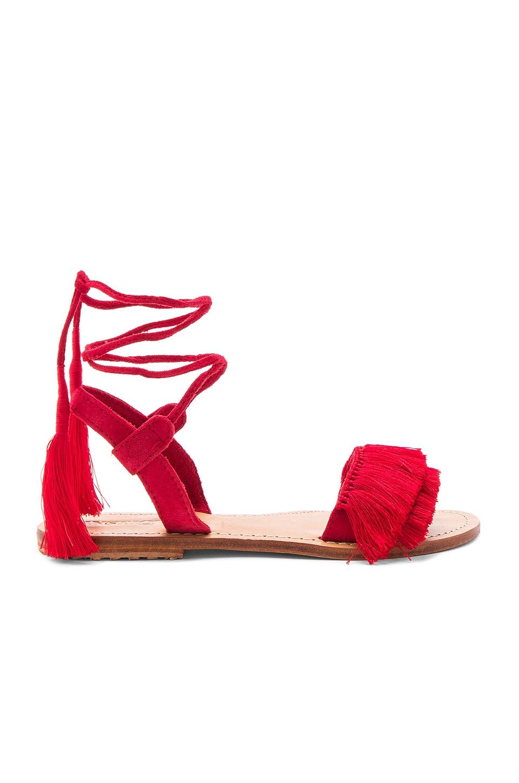 Mystique Sandal in Red