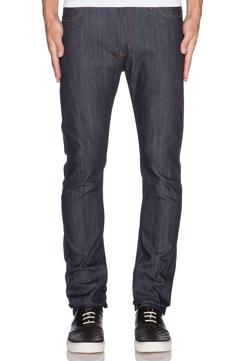 Stacked Guy 12oz Indigo Power Stretch by Naked & Famous Denim