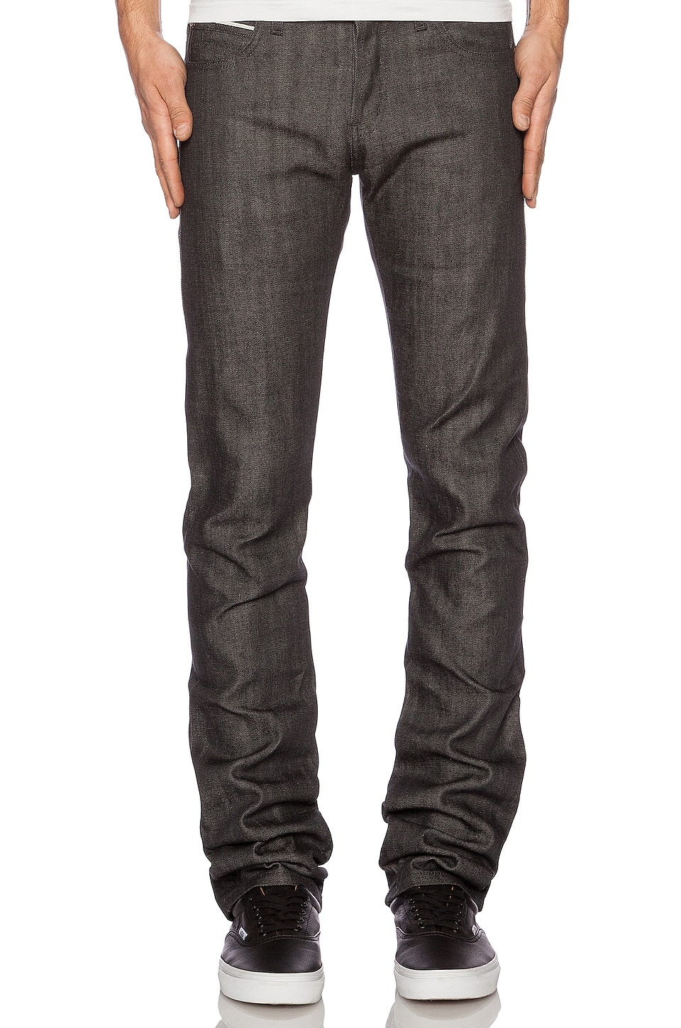 Skinny Guy Charcoal Selvedge by Naked & Famous Denim
