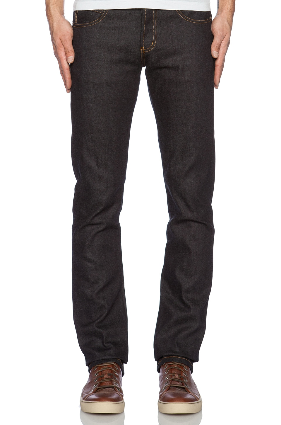 Skinny Guy 11.5oz Deep Indigo Stretch Selvedge by Naked & Famous Denim