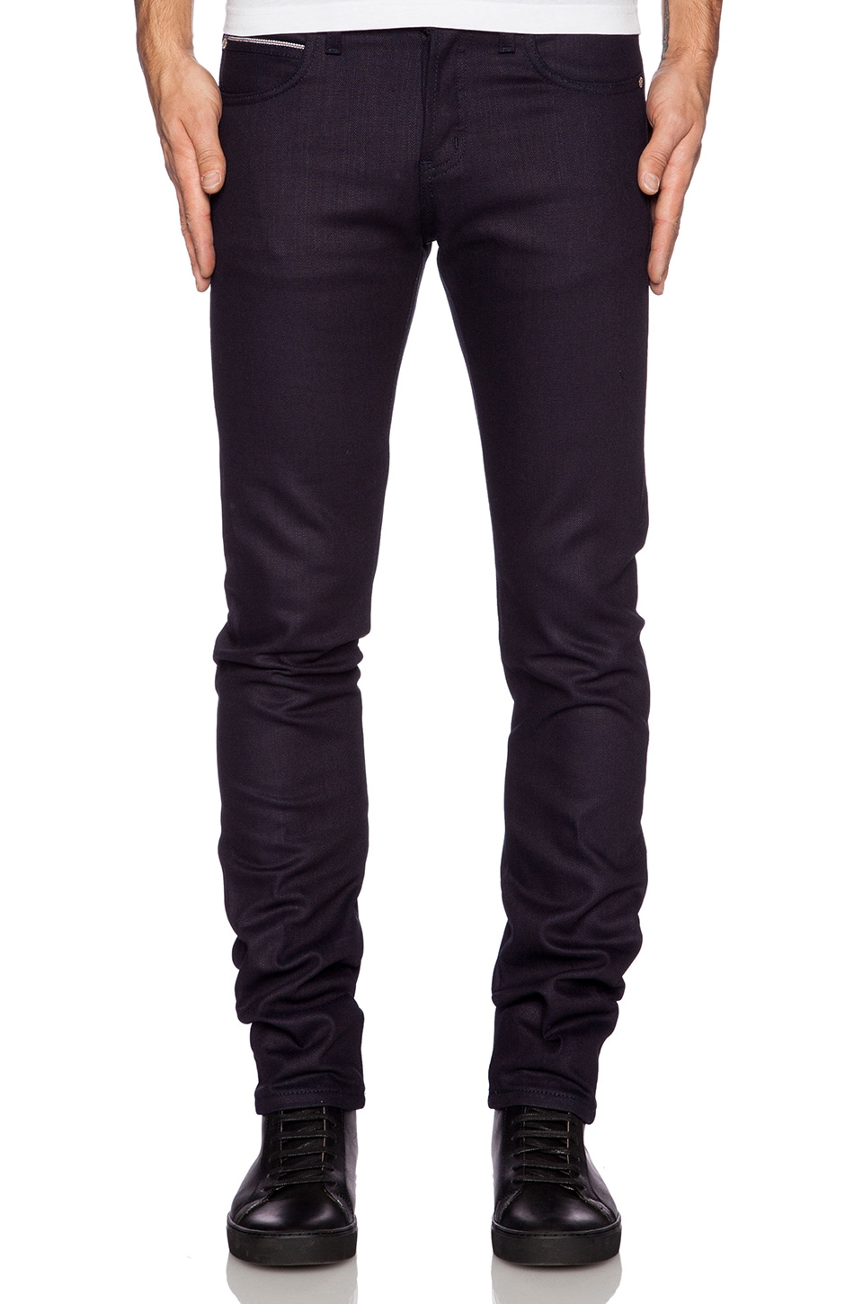 Super Skinny Guy 12.5oz Indigo/Indigo Stretch Selvedge by Naked & Famous Denim