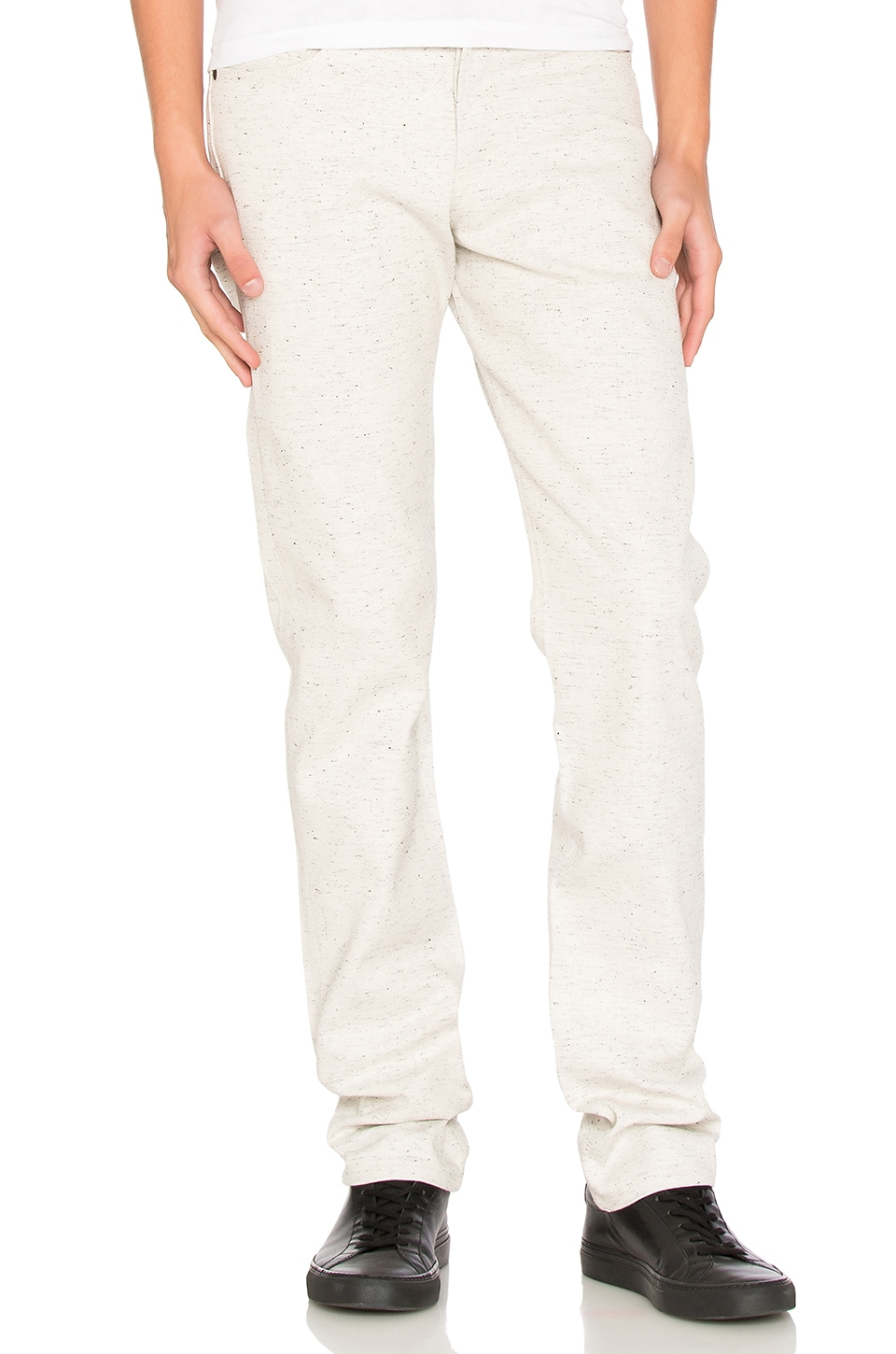 Weird Guy 12oz Natural Denim with Black by Naked & Famous Denim