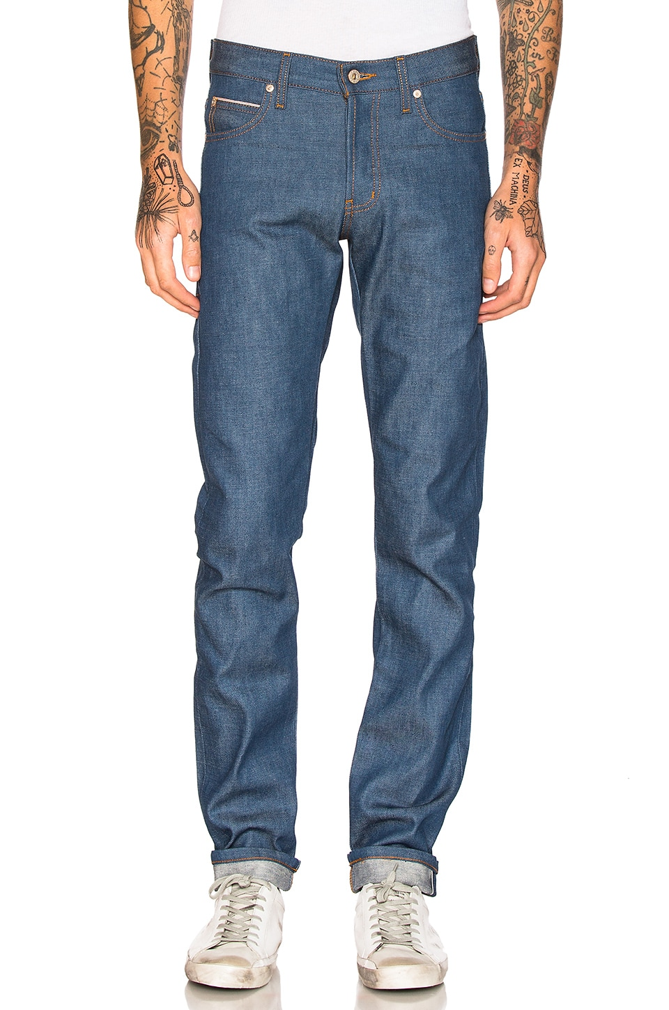 Super Skinny Guy Sunrise Selvedge 10oz by Naked & Famous Denim