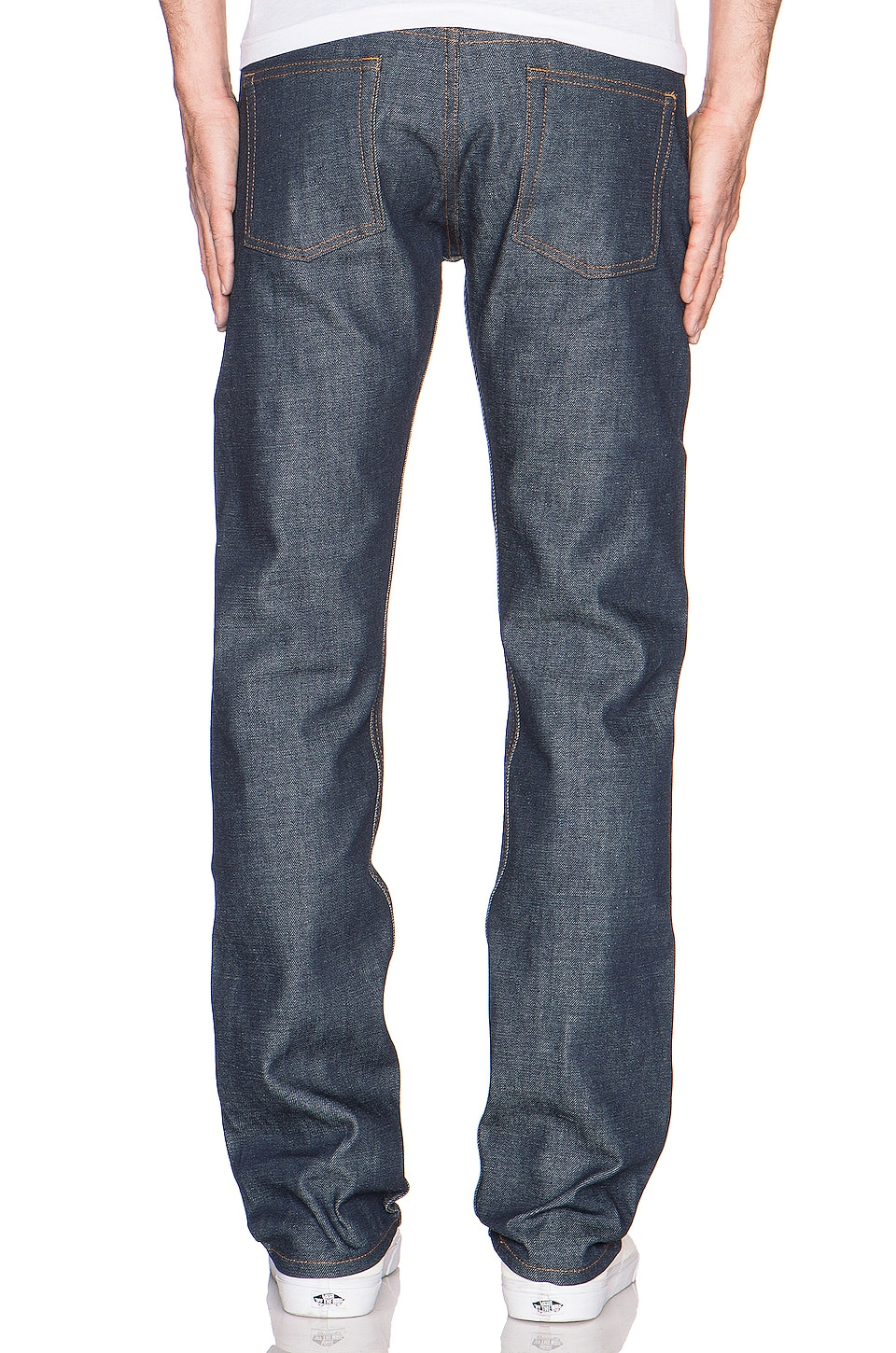 Naked & Famous Denim Weird Guy Dirty Fade Selvedge 14.5oz. in Indigo