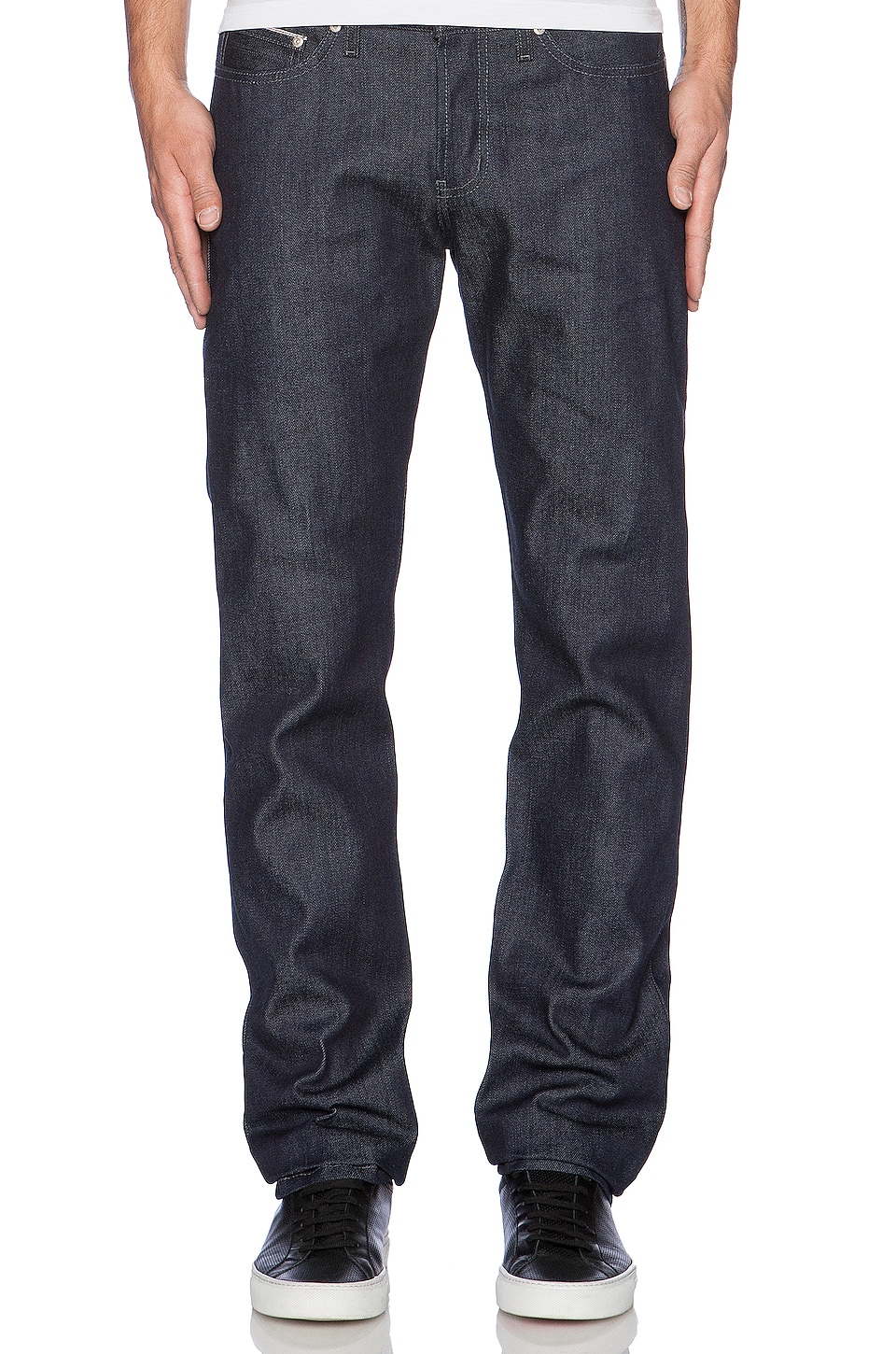 Naked & Famous Denim Weird Guy Selvedge in Indigo
