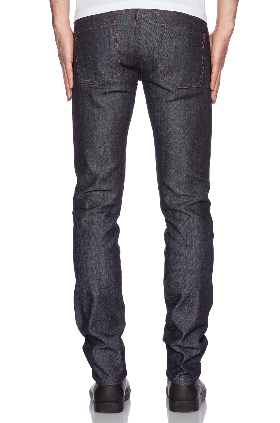 Naked & Famous Denim Super Skinny Guy 12.5 oz Stretch Selvedge in Indigo