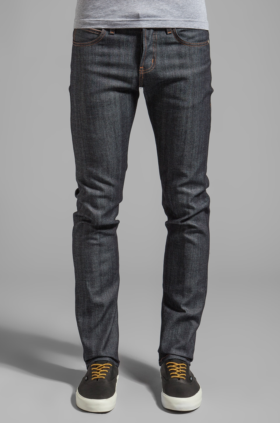 Naked & Famous Denim Super Skinny Guy Stretch Selvedge 12.5 oz in Indigo