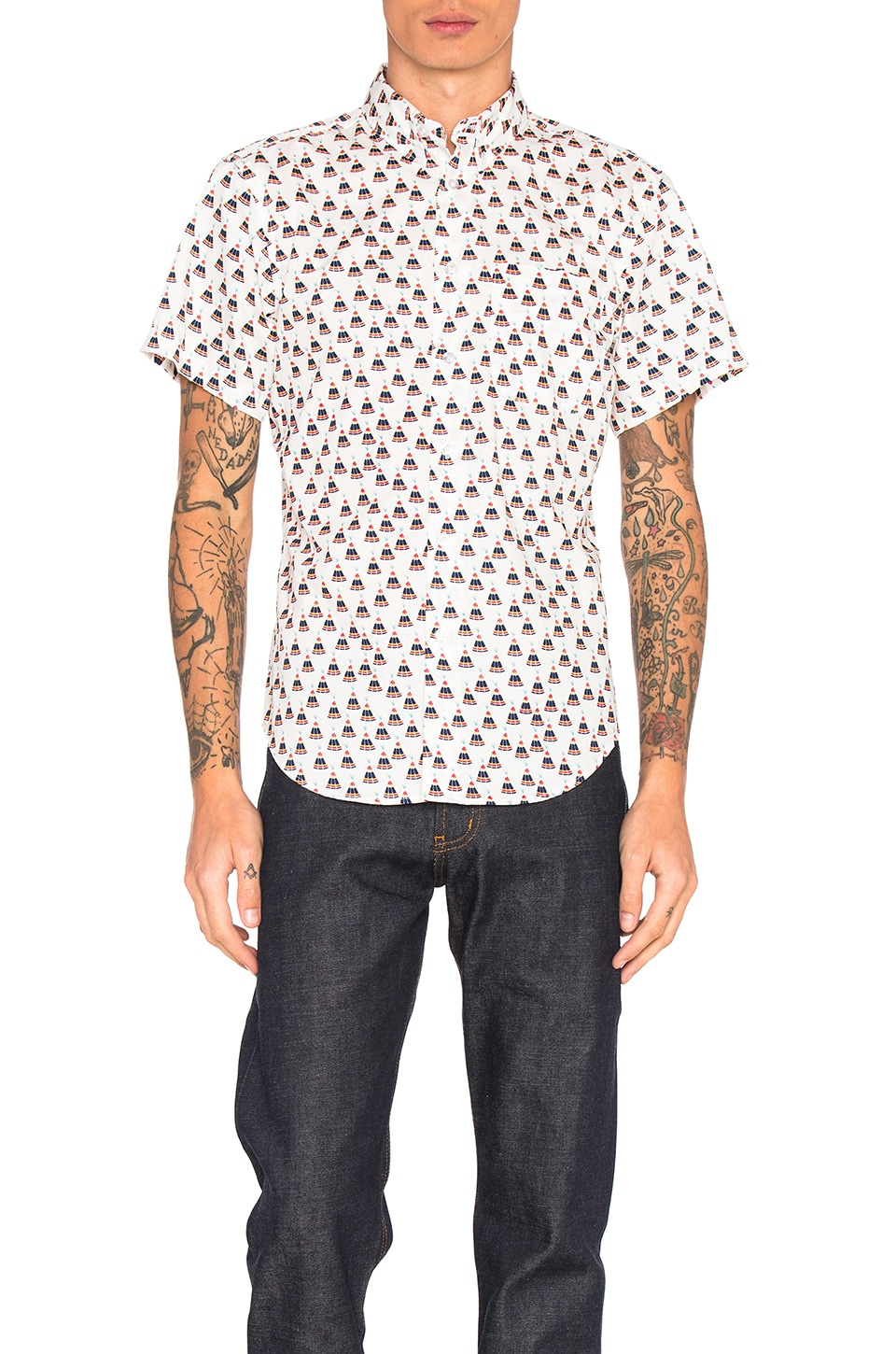 S/S Button Down by Naked & Famous Denim