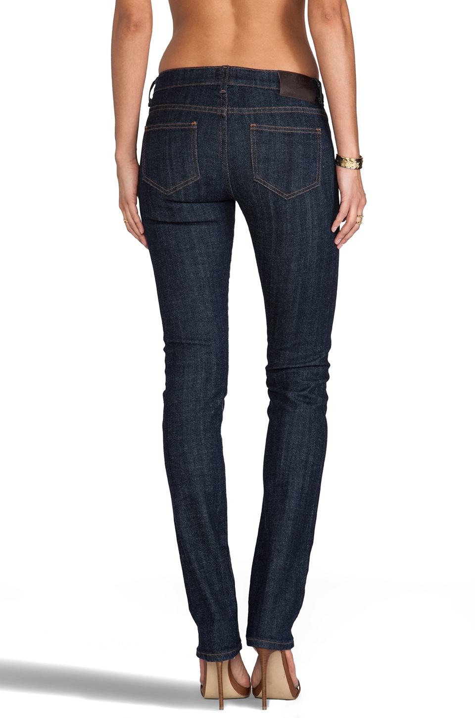 Naked & Famous Denim The Straight Stretch Selvedge in Indigo