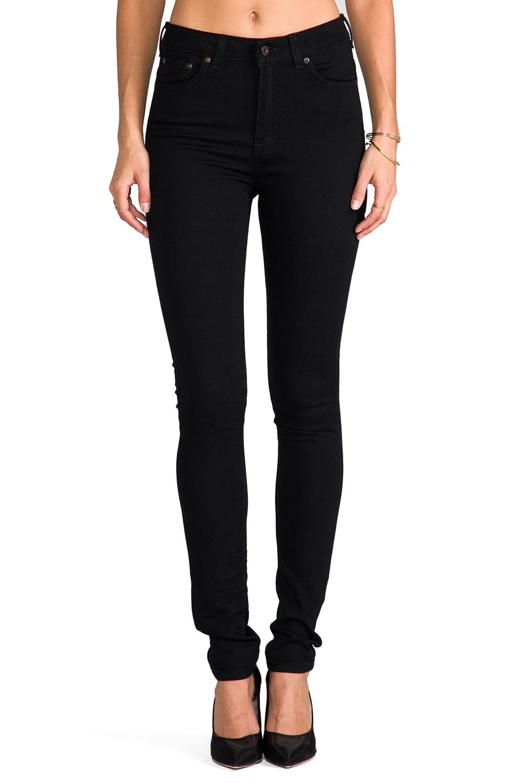 25250a3692f Naked   Famous Denim Облегающие джинсы в цвете Lightweight Black Super  Stretch