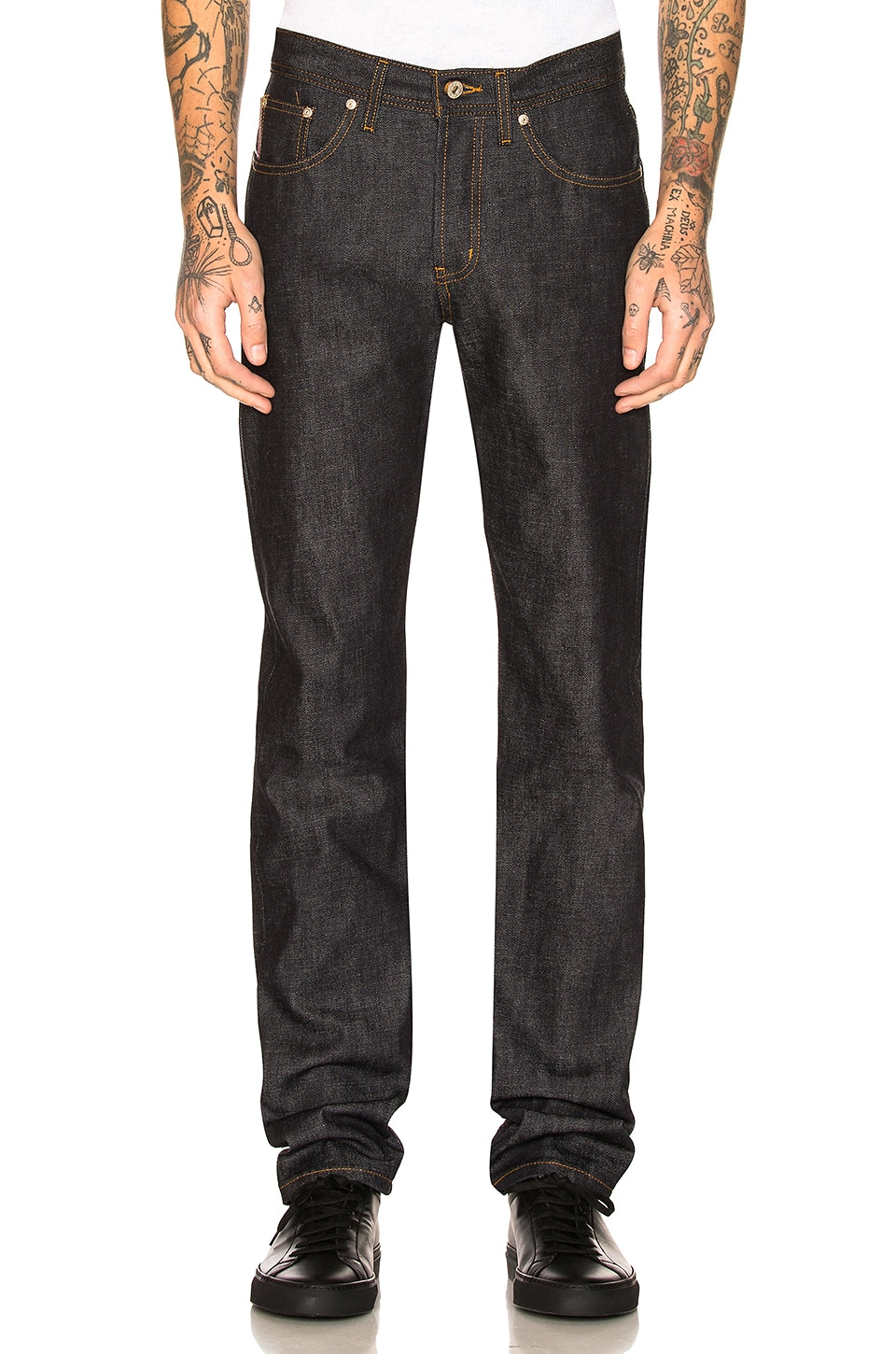 NAKED AND FAMOUS WEIRD GUY 10 YEAR ANNIVERSARY SELVEDGE