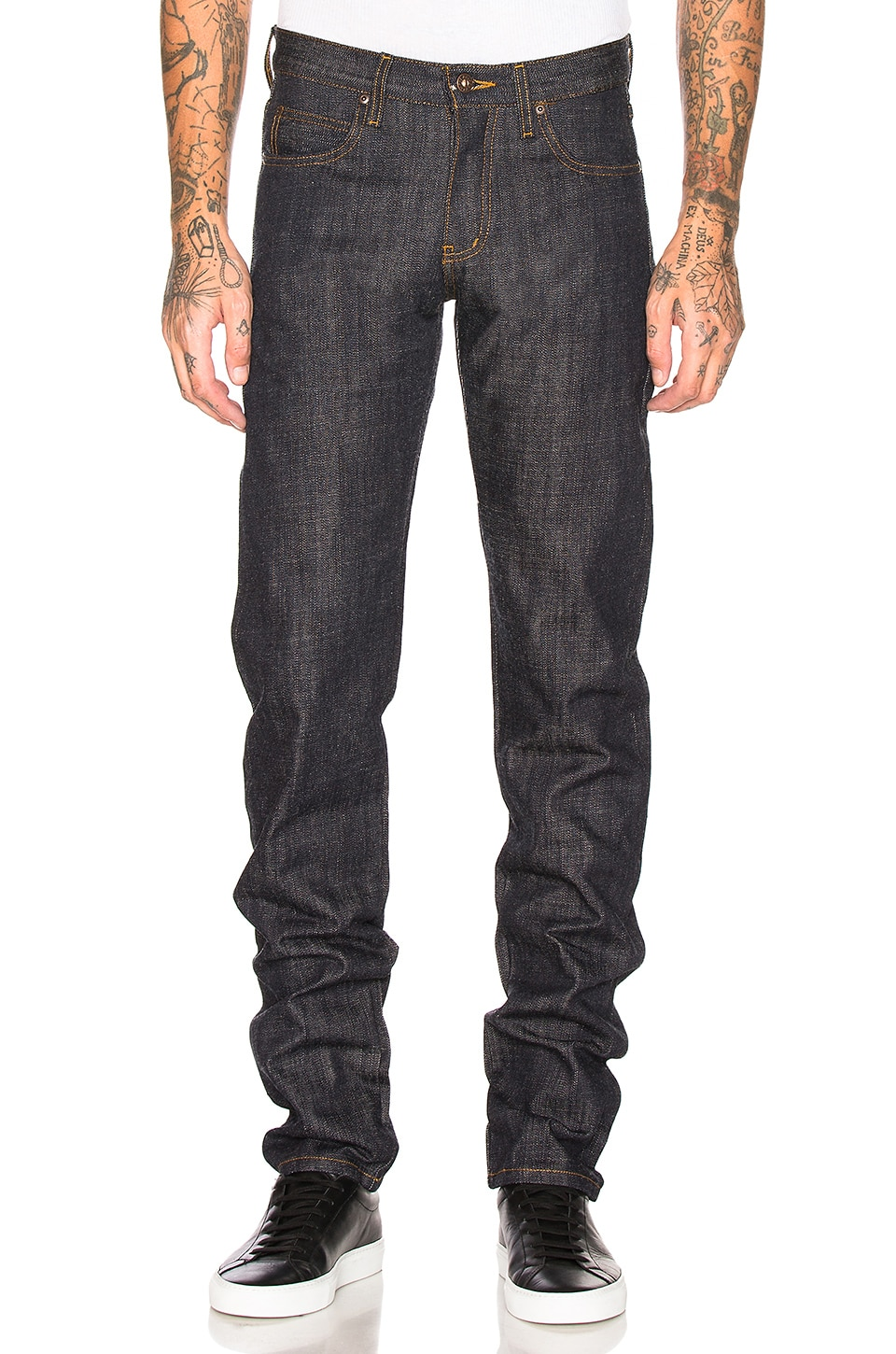Naked & Famous Denim Super Skinny Guy Japanese Heritage Returns in Indigo