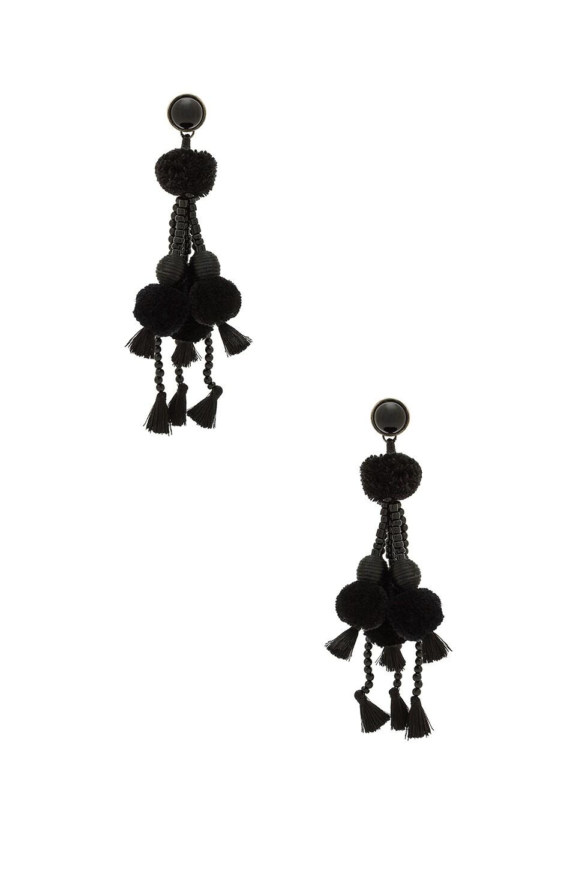 Gaya Earrings in Black NANNACAY ootp1Y