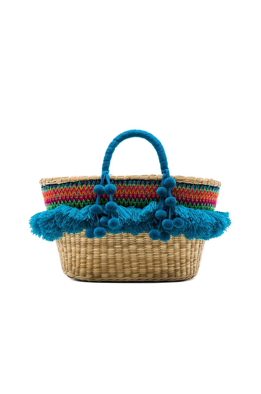 Nannacay Cristina Tote Bag in Blue