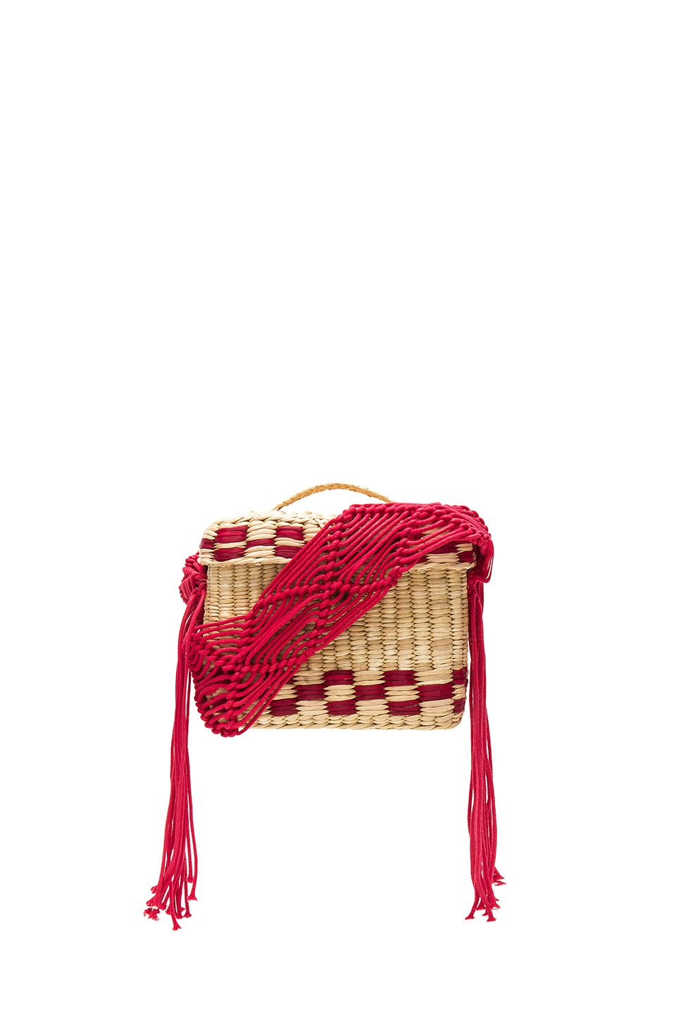 Roge Small Macrame Strap Bag