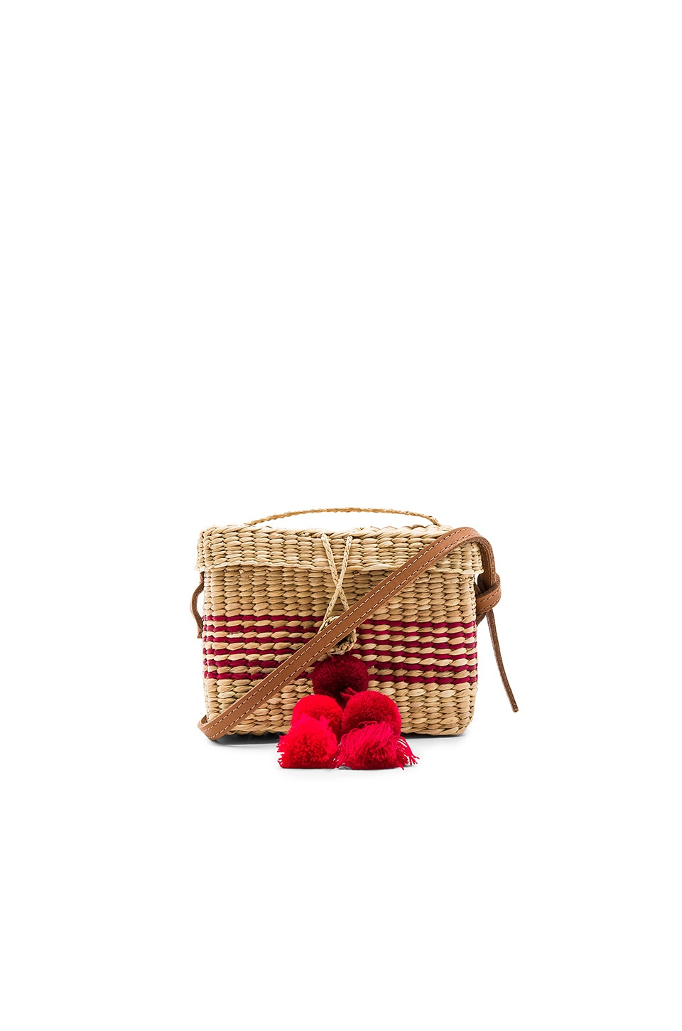 Nannacay Baby Roge with Strap in Red
