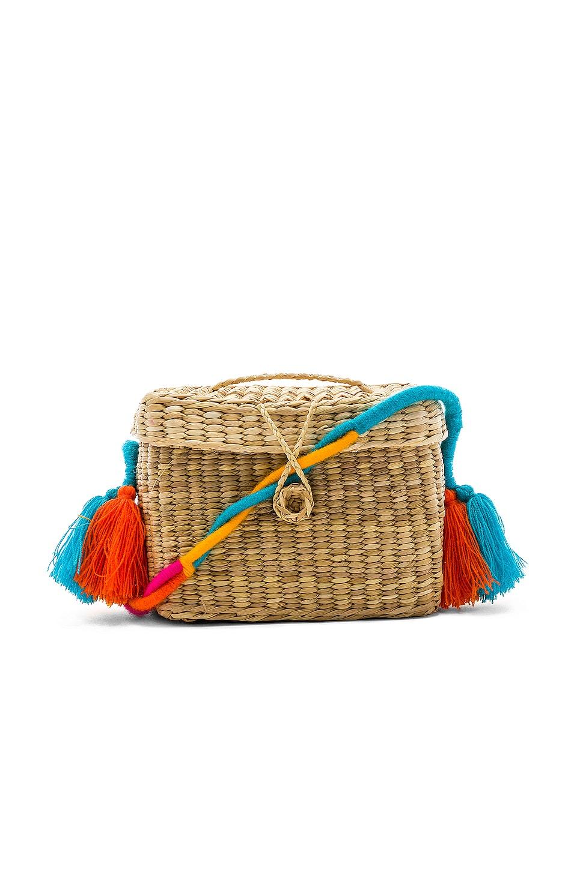 Nannacay Roge Small Colored Braid Strap Bag in Multi
