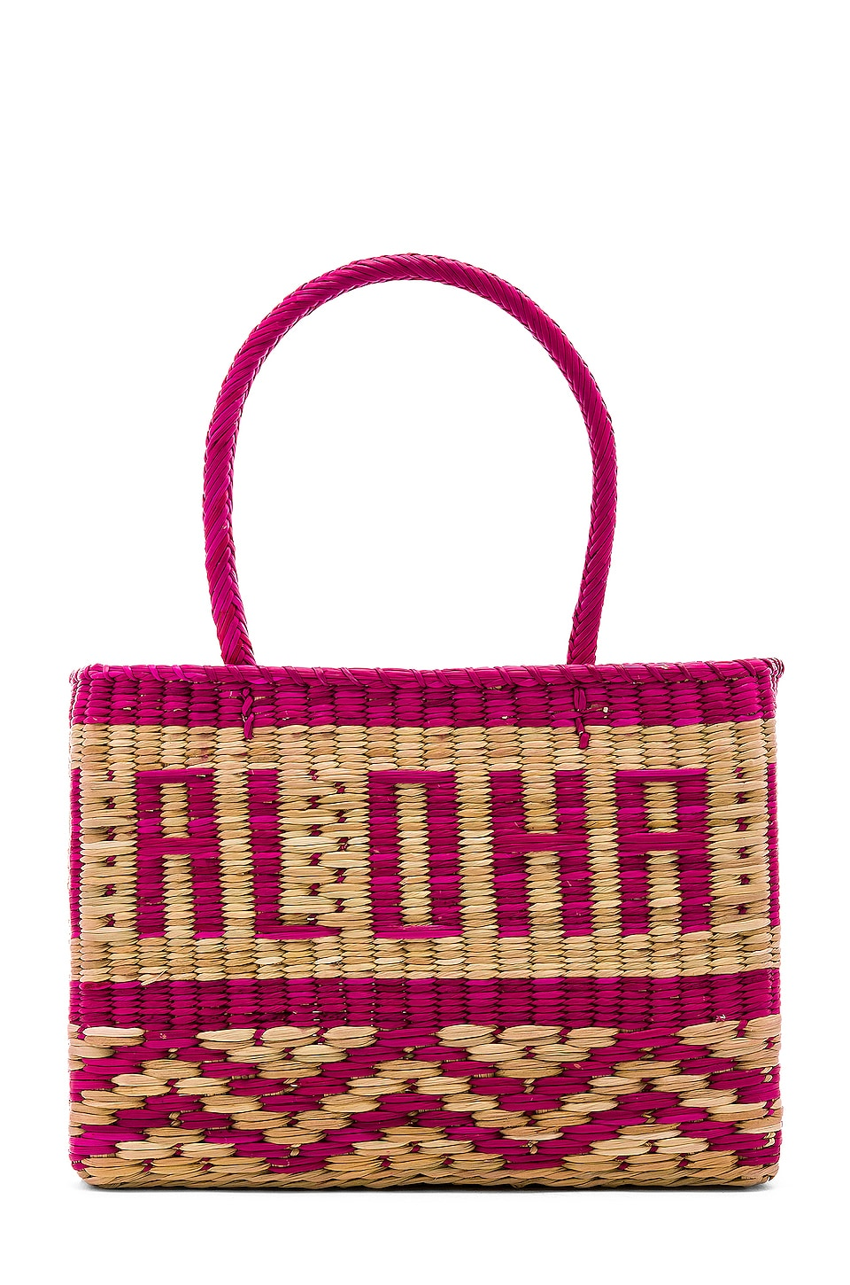 Nannacay Goa Aloha Tote in Pink