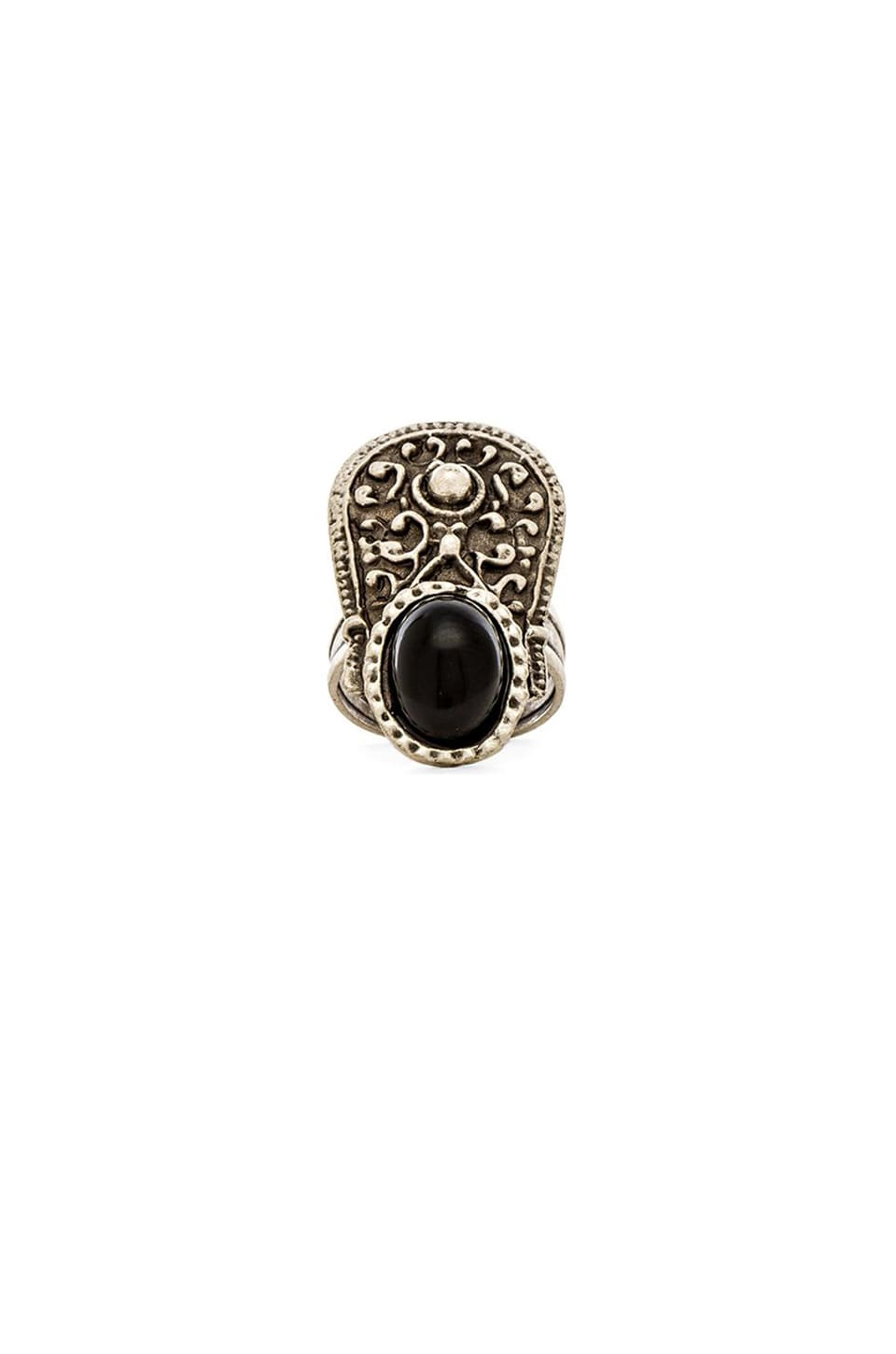 Natalie B Jewelry Eye of Troy Ring in Silver
