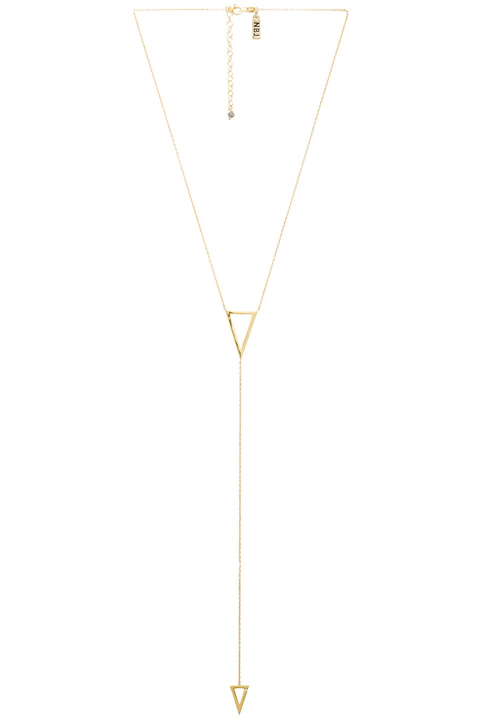 Natalie B Jewelry It's Goin' Down Necklace in Gold