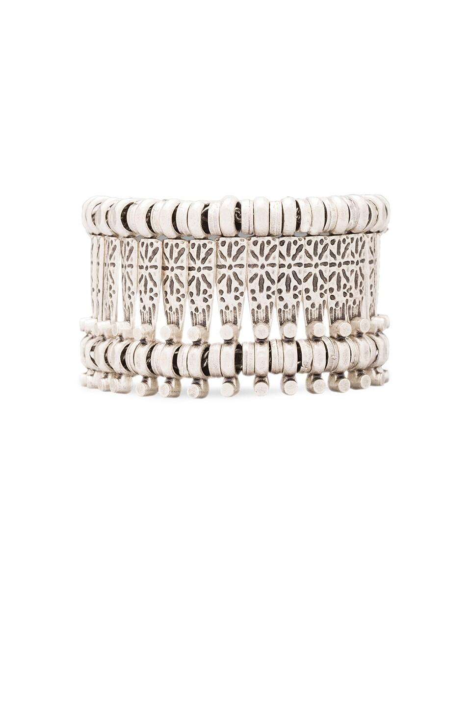Natalie B Jewelry Basilica Bracelet in Silver