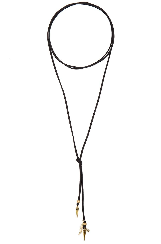 Roadie Wrap Necklace by Natalie B Jewelry