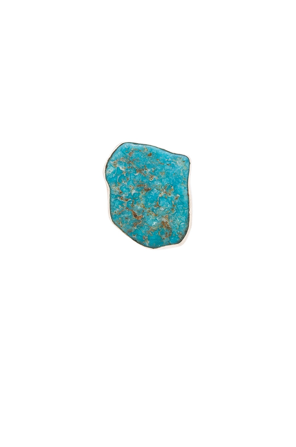 Natalie B Jewelry Odyssey Ring in Silver Turquoise