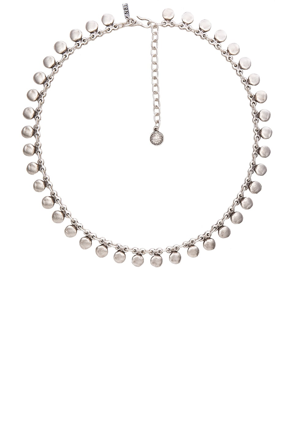 Natalie B Jewelry Sea Drops Necklace in Silver