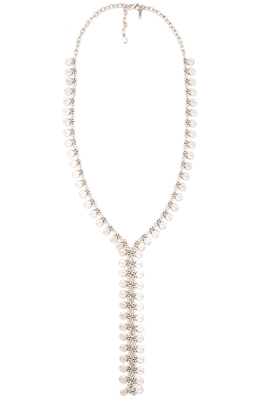 Seadrop Lariat Necklace