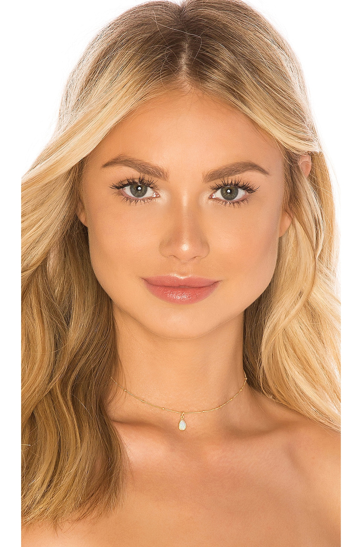 Natalie B Jewelry Odessa Drop Choker in Gold