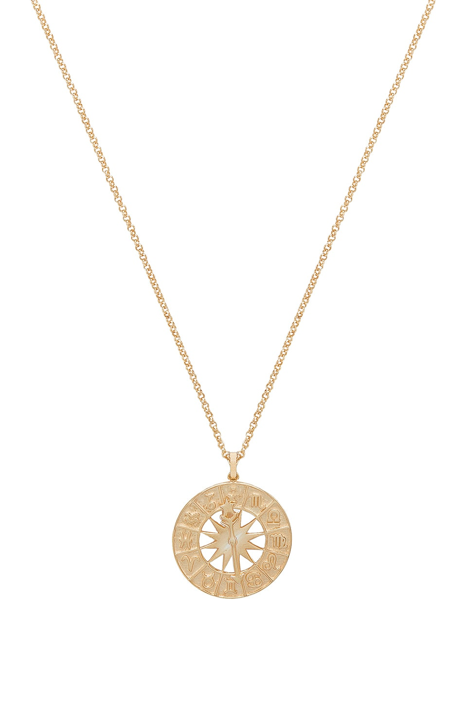 NATALIE B JEWELRY WHAT'S YOUR SIGN NECKLACE