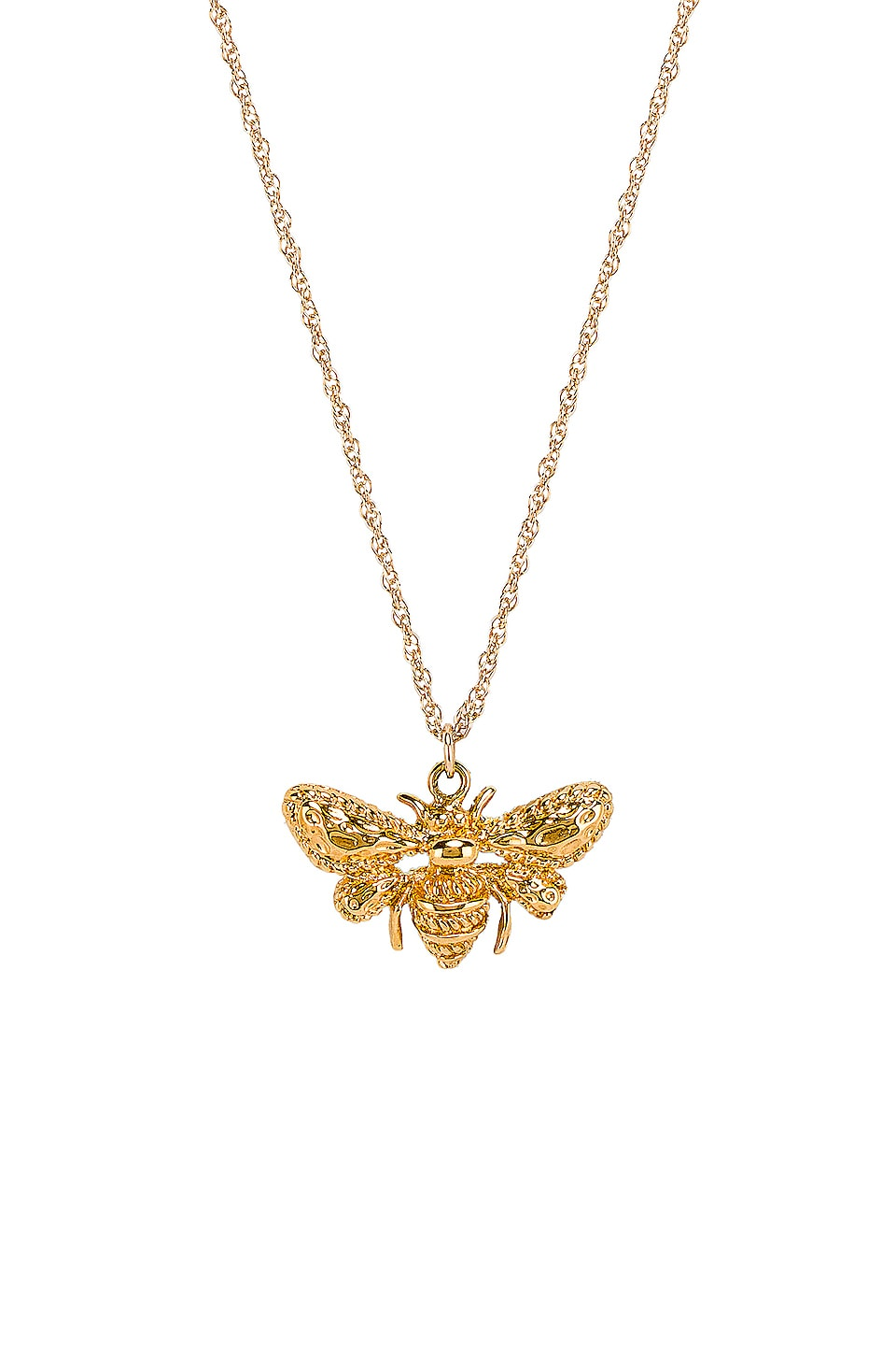 Natalie B Jewelry Queen Bee Necklace in Gold