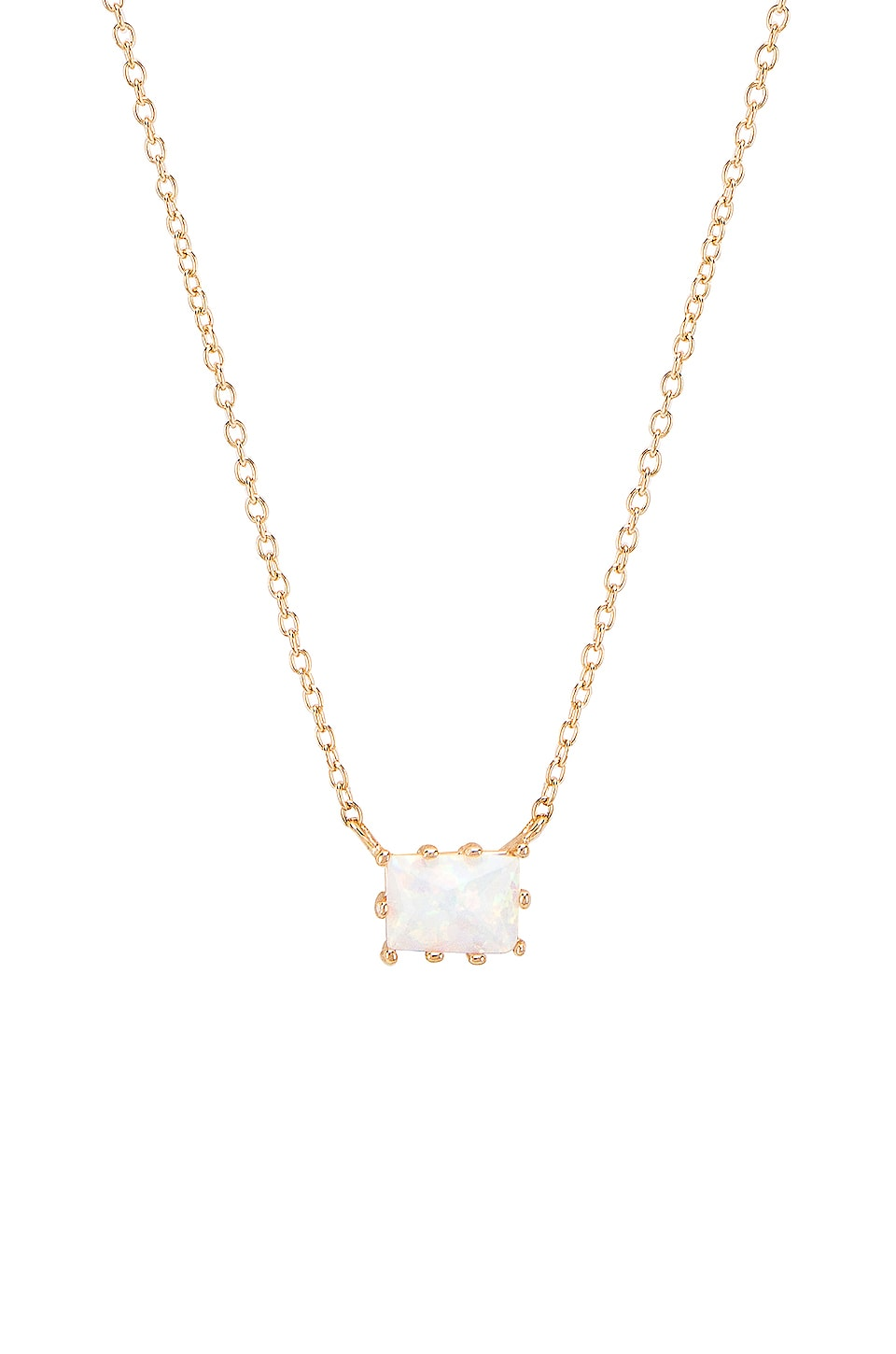 Natalie B Jewelry Grace Necklace in Gold