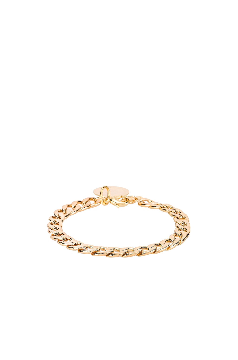 Natalie B Jewelry D'Or Chain Bracelet in Gold