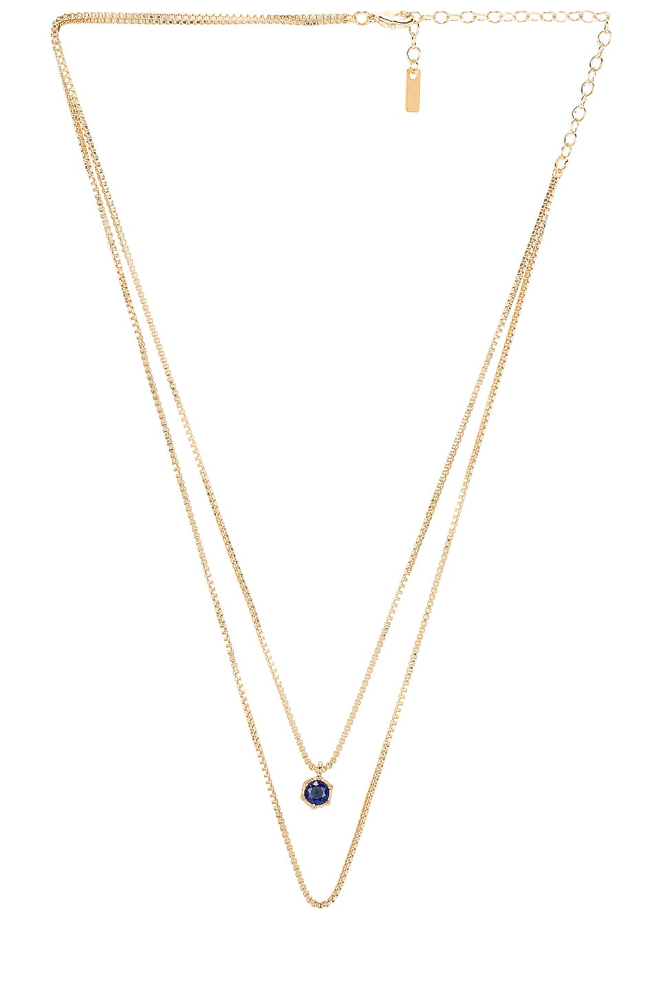 Natalie B Jewelry September Birthstone Necklace in September